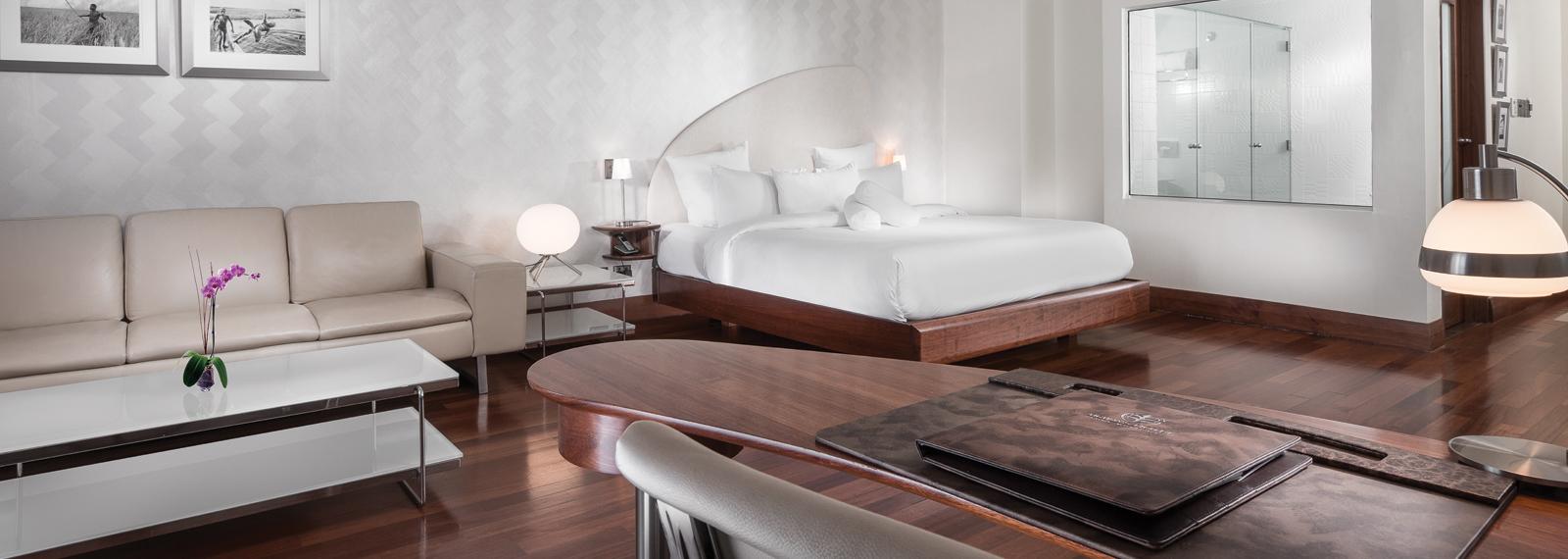 Spacious, luxurious rooms